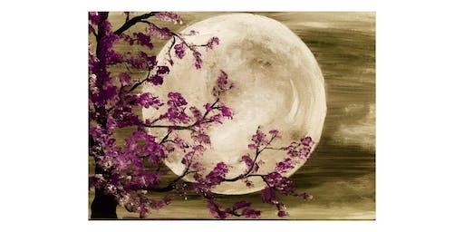 "Adult Open Paint (18yrs+) ""Purple Moonlight"""