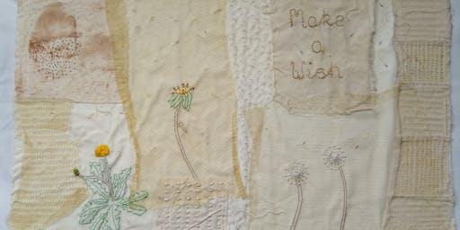 Textile Art Collage Workshop