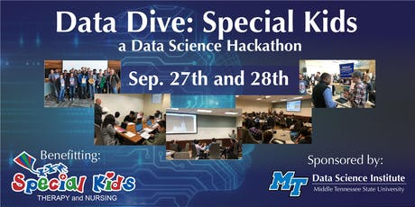 Data Dive: Special Kids - A Data Science Institute Hackathon tickets