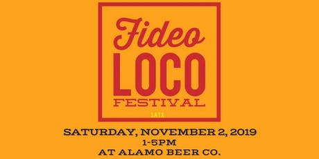 3rd Annual Fideo Loco Festival & Cook Off tickets