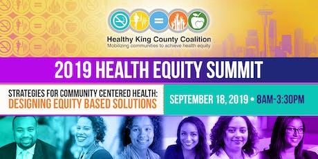 HKCC 2019 Health Equity Summit tickets