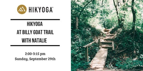 Hikyoga® at Billy Goat Trail with Natalie tickets