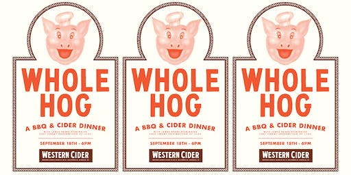 WHOLE HOG: A BBQ and Cider Dinner with James Beard Nominated Chef Jeremy Engebretson of Lilac