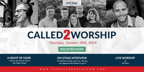 Called2Worship 2019: A Night of Hope tickets