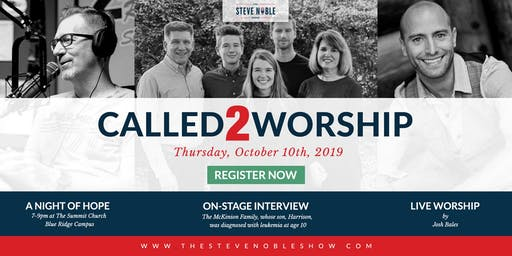 Called2Worship 2019: A Night of Hope