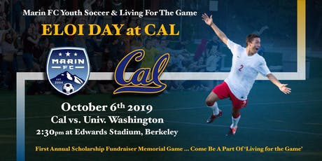 Marin FC Youth Soccer Living For The Game: Eloi Day at CAL tickets