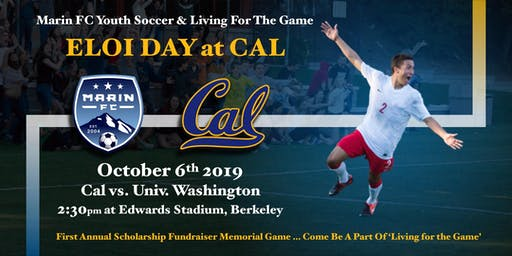 Marin FC Youth Soccer Living For The Game: Eloi Day at CAL