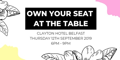 Own Your Seat at The Table tickets