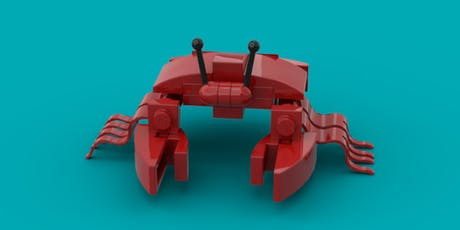 LEGO® Crab Make and Take tickets