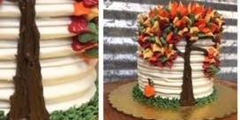 Pumpkin Spice Fall Cake Decorating Workshop