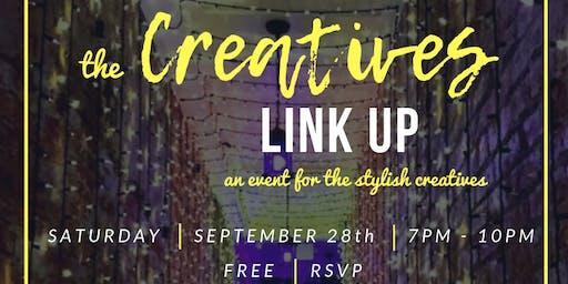 The Creatives Link Up! - September