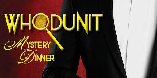 Whodunit Mystery Dinner Legacy Theatre Gala 2019