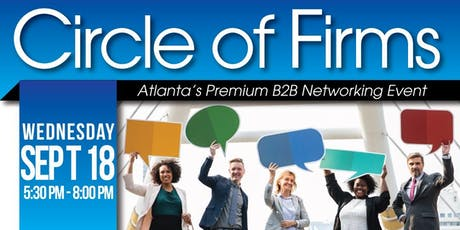 B2B Networking: Circle of Firms | Sept 2019 tickets