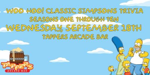 WOO HOO! Classic Simpsons Trivia - Seasons 1-10 - FREE EVENT