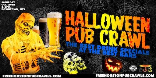 Halloween Pub Crawl - FreeHoustonPubCrawls.com