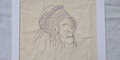 Free Motion Machine Embroidery Workshop; Draw with your Sewing Machine tickets