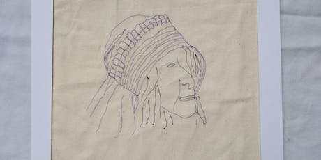 Free Motion Machine Embroidery  for  Beginners Workshop tickets
