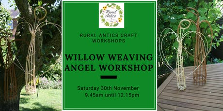 Festive Willow Weaving Angel tickets