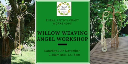 Festive Willow Weaving Angel