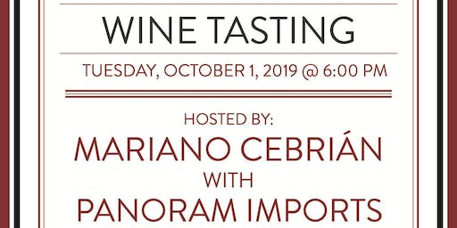 October Feature Tasting - Argentine Wine with Panoram Imports