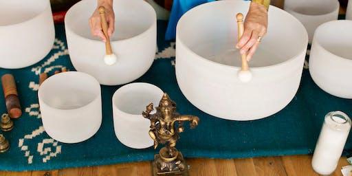 Yin Yoga.  Full Moon. Cacao Ceremony.  Sound Bath