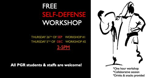 Free self-defense workshops for PGR students and staffs (SHSS)