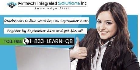 *2019 QuickBooks Online Hands-On Workshop-Toronto-Mississauga on September 28th 2019 tickets