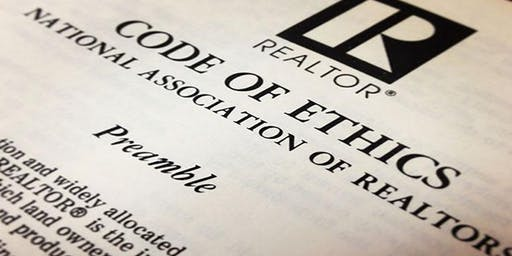 WCR Presents 3H CE Code of Ethics Sponsored by O'Kelley & Sorohan