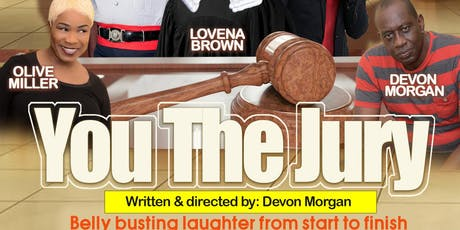"""""""You The Jury"""" tickets"""
