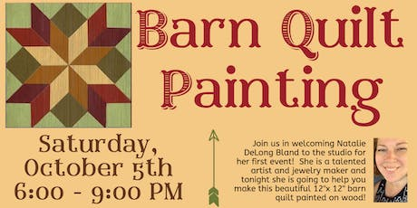 Barn Quilt Painting Event tickets