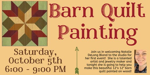 Barn Quilt Painting Event