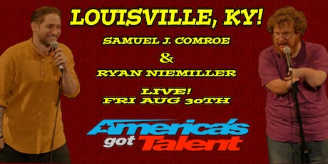 Samuel J Comroe and Ryan Niemiller from America's Got Talent Live! tickets