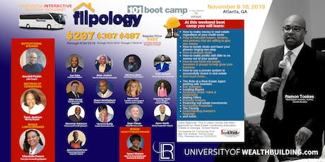 Flipology 101: The Boot Camp with Ramon Tookes November 8-10, 2019 tickets