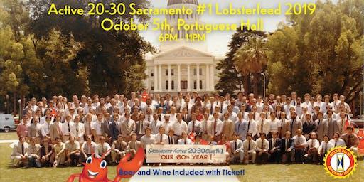 Active 20-30 Sacramento #1 Lobster feed : The Good Ole Days