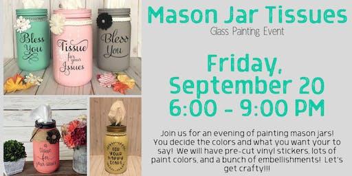 Mason Jar Tissues