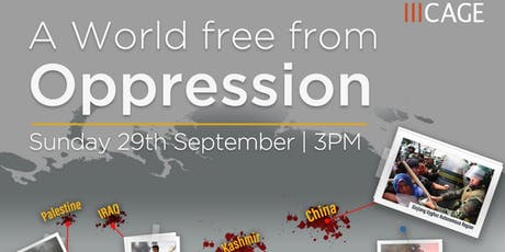 A World Free of Oppression tickets