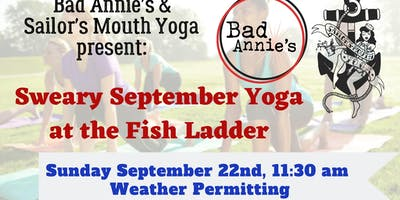 Sweary September Yoga At The Fish Ladder