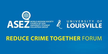 ASEZ Reduce Crime Together Forum tickets