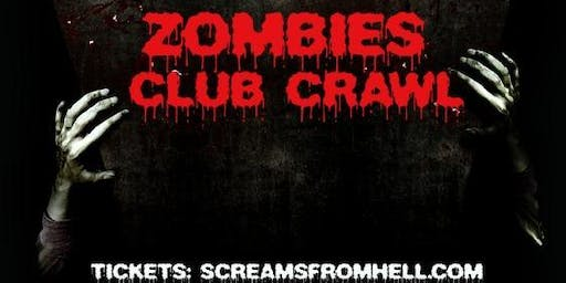 Zombies Halloween Club Crawl Party Toronto 2019 Event