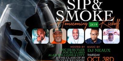 SIP & SMOKE - Rattler Homecoming 2019 Edition