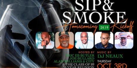 SIP & SMOKE - Rattler Homecoming 2019 Edition tickets