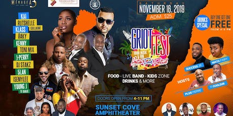 Griot Fest: The Haitian Food Festival 2k19 tickets