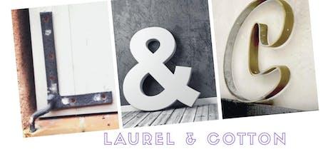 Open Journal Day at Laurel & Cotton tickets