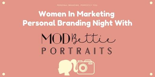 Women In Marketing Personal Branding Night with MODBettie Portraits