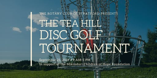 Tea Hill Disc Golf Tournament