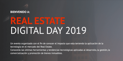 #REDD2019 - Real Estate Digital Day - 4ta EDICION