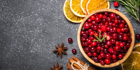 Cranberry: Native Fruit of the Feast (Nov. 14 @ 10:30 AM)  |  Special Holiday Class tickets