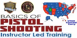 Basic Pistol Safety & UTAH Conceal • SPECIAL (2 Eve...
