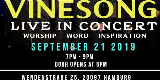 VINESONG LIVE IN CONCERT