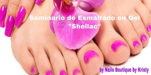 """Seminario de Esmaltado en Gel """"Shellac"""""""